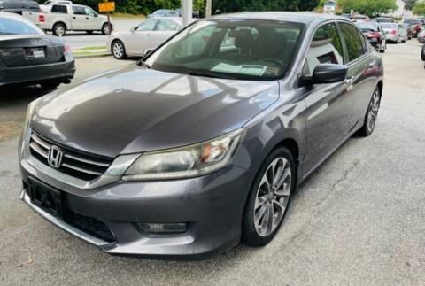 2014 Honda Accord for sale at Klassic Cars in Lilburn GA