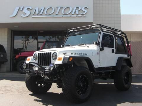 2006 Jeep Wrangler for sale at J'S MOTORS in San Diego CA