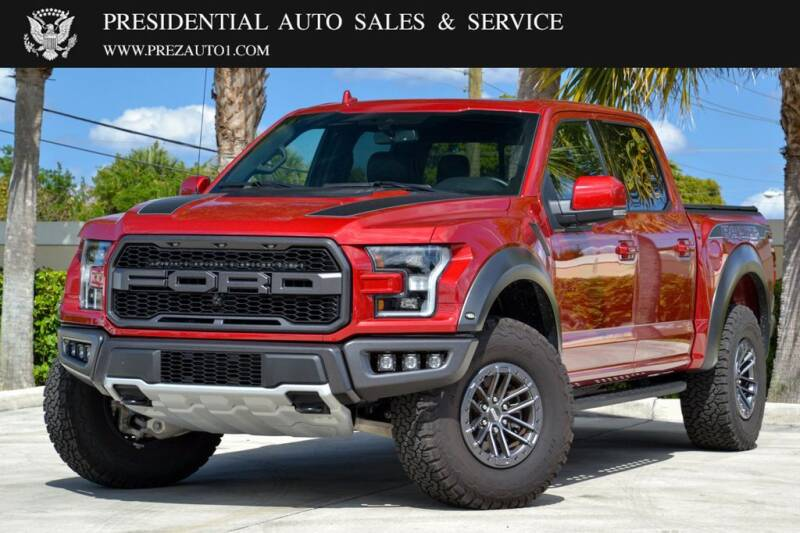 2020 Ford F-150 for sale at Presidential Auto  Sales & Service in Delray Beach FL