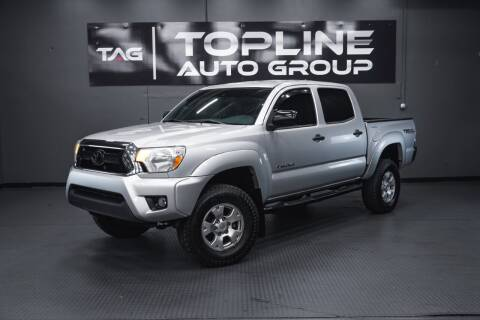 2012 Toyota Tacoma for sale at TOPLINE AUTO GROUP in Kent WA