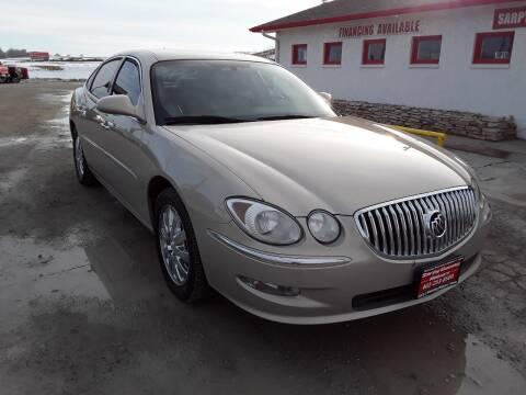 2008 Buick LaCrosse for sale at Sarpy County Motors in Springfield NE