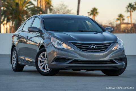 2013 Hyundai Sonata for sale at Euro Auto Sales in Santa Clara CA