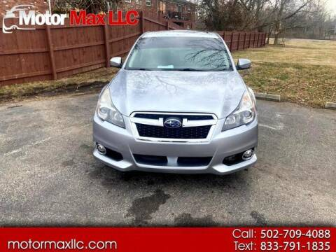 2014 Subaru Legacy for sale at Motor Max Llc in Louisville KY