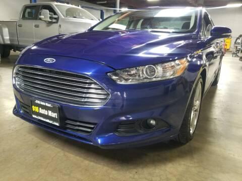 2016 Ford Fusion for sale at 916 Auto Mart in Sacramento CA