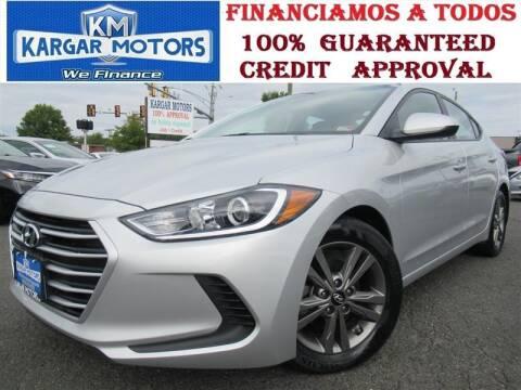 2018 Hyundai Elantra for sale at Kargar Motors of Manassas in Manassas VA