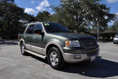 2005 Ford Expedition for sale at STEPANEK'S AUTO SALES & SERVICE INC. in Vero Beach FL