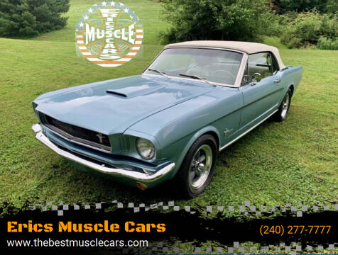 1965 Ford Mustang for sale at Erics Muscle Cars in Clarksburg MD