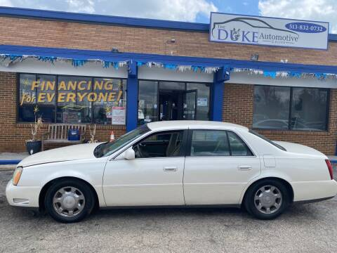 2003 Cadillac DeVille for sale at Duke Automotive Group in Cincinnati OH