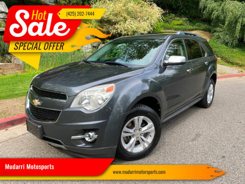 2011 Chevrolet Equinox for sale at Mudarri Motorsports in Kirkland WA