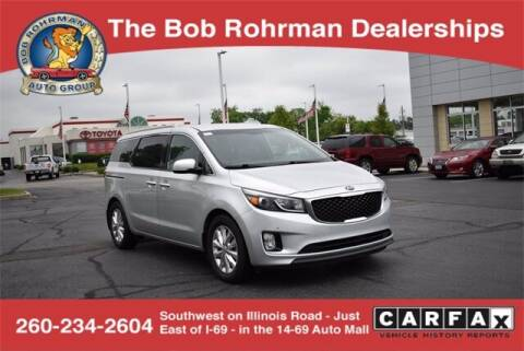 2017 Kia Sedona for sale at BOB ROHRMAN FORT WAYNE TOYOTA in Fort Wayne IN