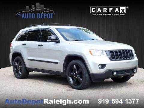 2013 Jeep Grand Cherokee for sale at The Auto Depot in Raleigh NC
