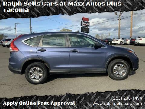 2013 Honda CR-V for sale at Ralph Sells Cars at Maxx Autos Plus Tacoma in Tacoma WA