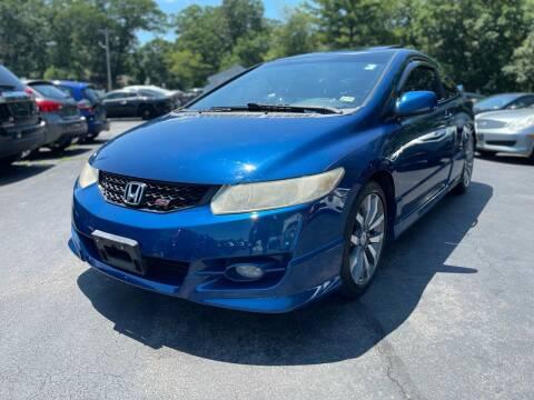 2010 Honda Civic for sale at SOUTH SHORE AUTO GALLERY, INC. in Abington MA
