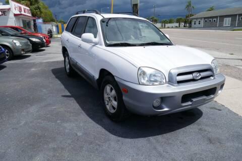 2006 Hyundai Santa Fe for sale at J Linn Motors in Clearwater FL