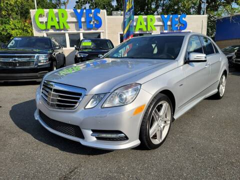 2012 Mercedes-Benz E-Class for sale at Car Yes Auto Sales in Baltimore MD