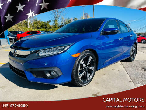 2017 Honda Civic for sale at Capital Motors in Raleigh NC