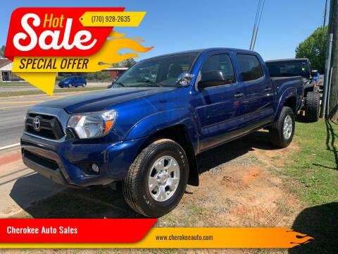 2015 Toyota Tacoma for sale at Cherokee Auto Sales in Acworth GA
