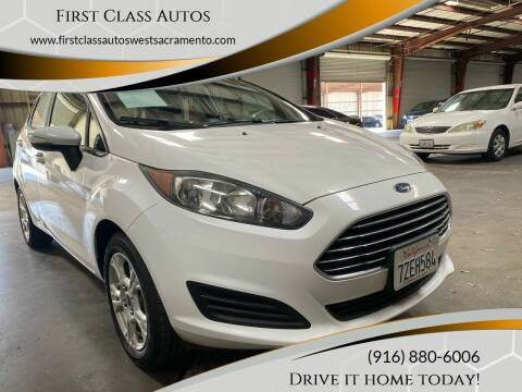 2016 Ford Fiesta for sale at Car Source Center in West Sacramento CA