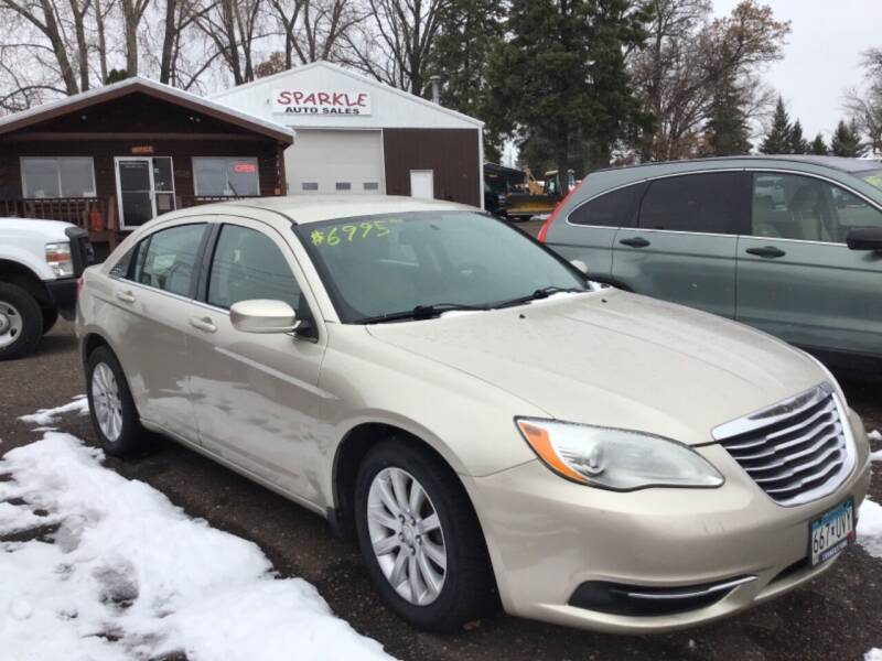 2013 Chrysler 200 for sale at Sparkle Auto Sales in Maplewood MN