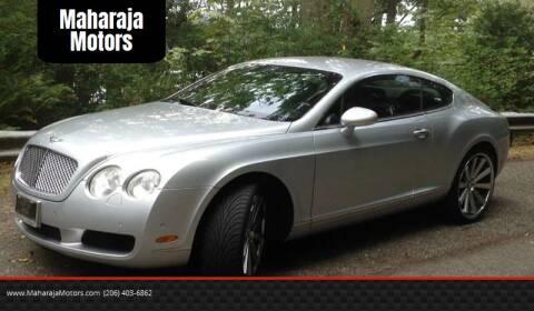 2004 Bentley Continental for sale at Maharaja Motors in Seattle WA