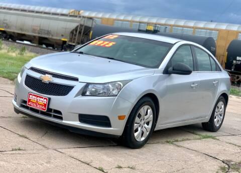 2012 Chevrolet Cruze for sale at SOLOMA AUTO SALES in Grand Island NE