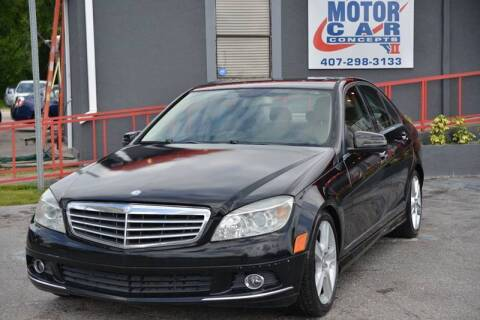 2010 Mercedes-Benz C-Class for sale at Motor Car Concepts II - Kirkman Location in Orlando FL