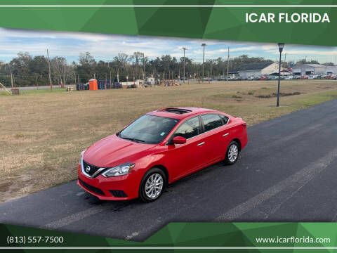 2016 Nissan Sentra for sale at ICar Florida in Lutz FL