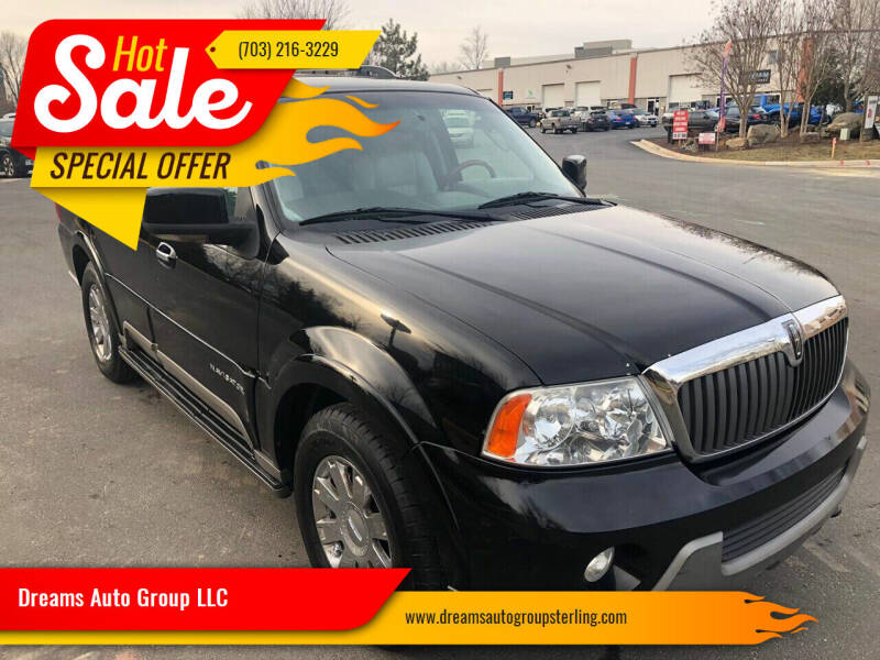 2004 Lincoln Navigator for sale at Dreams Auto Group LLC in Sterling VA