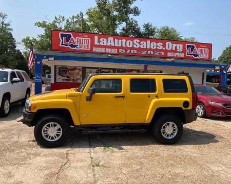 2006 HUMMER H3 for sale at LA Auto Sales in Monroe LA