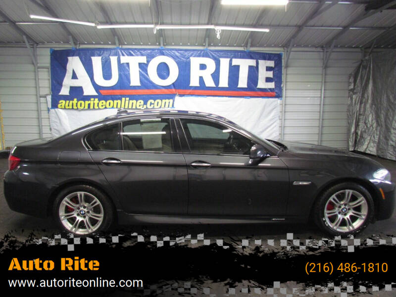 2013 BMW 5 Series for sale at Auto Rite in Cleveland OH