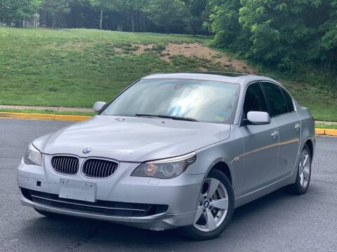 2008 BMW 5 Series for sale at Diamond Automobile Exchange in Woodbridge VA