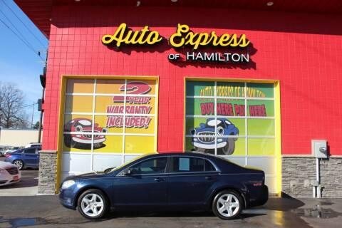 2010 Chevrolet Malibu for sale at AUTO EXPRESS OF HAMILTON LLC in Hamilton OH
