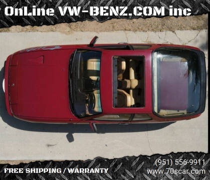 1982 Porsche 924 for sale at OnLine VW-BENZ.COM Auto Group in Riverside CA