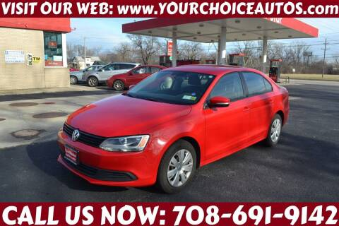 2012 Volkswagen Jetta for sale at Your Choice Autos - Crestwood in Crestwood IL