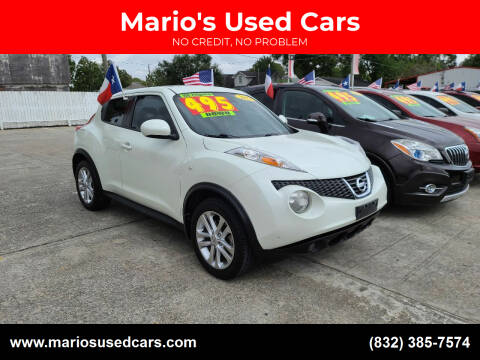 2012 Nissan JUKE for sale at Mario's Used Cars - South Houston Location in South Houston TX