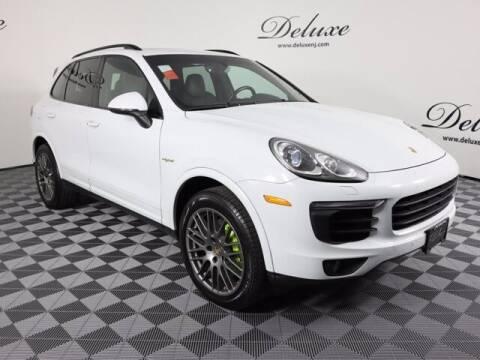 2017 Porsche Cayenne for sale at DeluxeNJ.com in Linden NJ