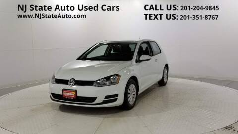 2015 Volkswagen Golf for sale at NJ State Auto Auction in Jersey City NJ