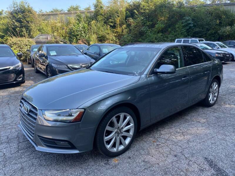 2013 Audi A4 for sale at Car Online in Roswell GA