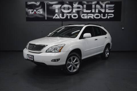 2008 Lexus RX 350 for sale at TOPLINE AUTO GROUP in Kent WA