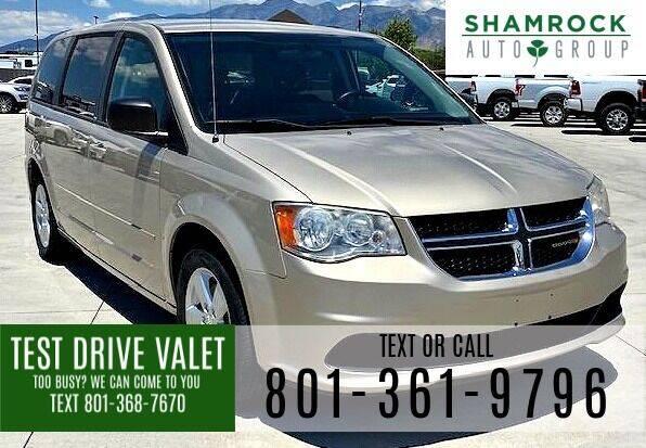 2013 Dodge Grand Caravan for sale at Shamrock Group LLC #1 in Pleasant Grove UT