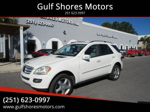 2008 Mercedes-Benz M-Class for sale at Gulf Shores Motors in Gulf Shores AL