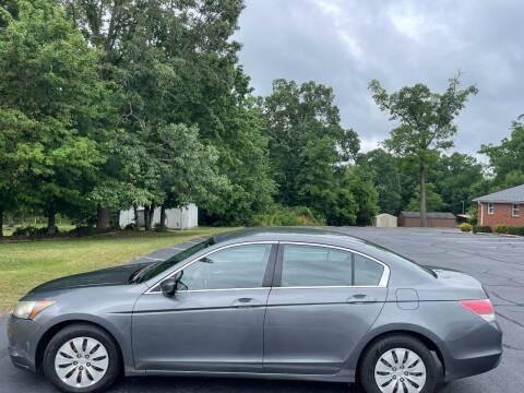 2010 Honda Accord for sale at SHAN MOTORS, INC. in Thomasville NC
