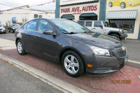 2014 Chevrolet Cruze for sale at PARK AVENUE AUTOS in Collingswood NJ
