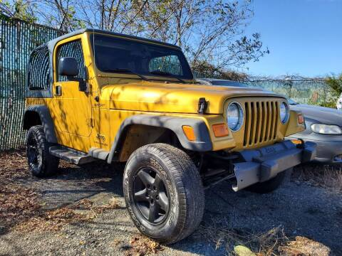 2003 Jeep Wrangler for sale at M & M Auto Brokers in Chantilly VA