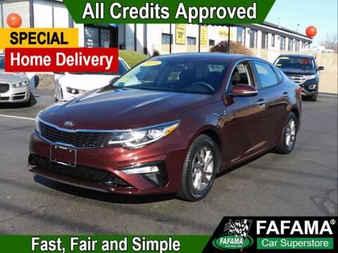 2019 Kia Optima for sale at FAFAMA AUTO SALES Inc in Milford MA