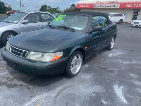 1998 Saab 900 for sale at Doug White's Auto Wholesale Mart in Newton NC