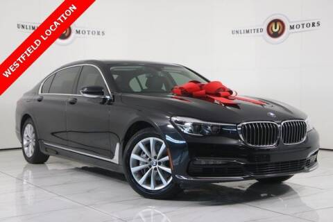 2018 BMW 7 Series for sale at INDY'S UNLIMITED MOTORS - UNLIMITED MOTORS in Westfield IN
