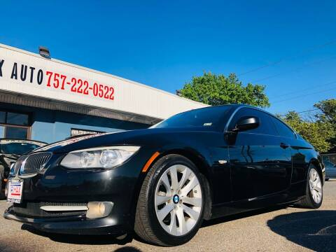 2013 BMW 3 Series for sale at Trimax Auto Group in Norfolk VA