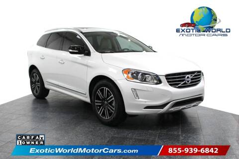 2017 Volvo XC60 for sale at Exotic World Motor Cars in Addison TX