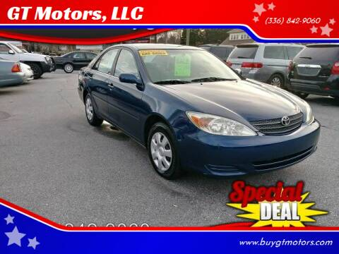 2003 Toyota Camry for sale at GT Motors, LLC in Elkin NC